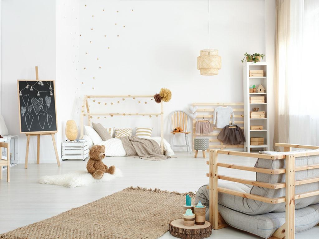 Camera letto bambini cameretta per ragazzi con letto a castello idfdesign mobili bagno a terra - Letto camera ragazzi ...