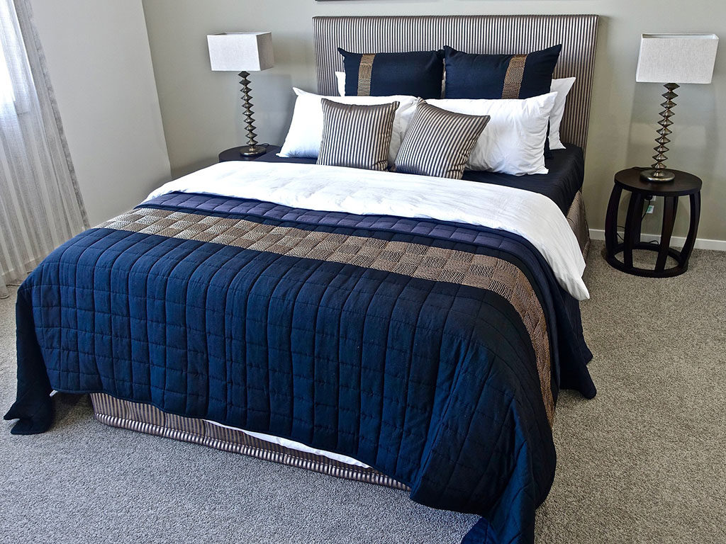 biancheria per camera da letto