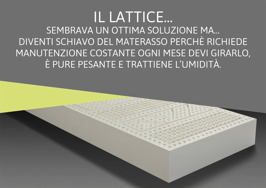 la verita' sul materasso in lattice
